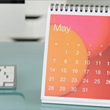 企業向け卓上カレンダー制作